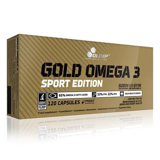 (OLIMP) Gold Omega 3 Sport Edition - (120 капc)