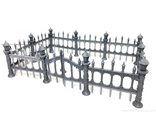 Cemetery fence (PAINTED)