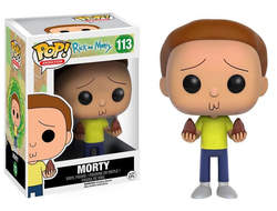 Фигурка Фанко Поп Морти с семенами (Рик и Морти) - Morty (113) - FUNKO POP