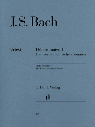 J.S. Bach Flute Sonatas Volume 1 - The Four Authentic Sonatas - with Violoncello Part