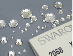 Стразы для маникюра Crystal Clear Swarovski