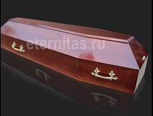 Гроб деревянный лакированный Барселона