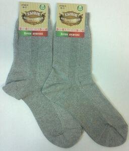 Беларусь носки мужские сетка хлопок с крапивой серые, 10 пар (1 упаковка)