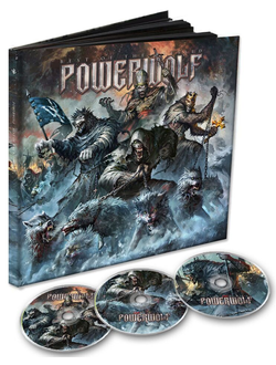 POWERWOLF - Best of the blessed 3-CD EARBOOK