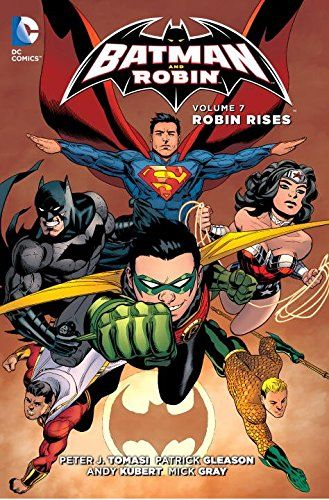 Batman and Robin Robin Rises Volume 7 Comic ИНОСТРАННЫЕ КОМИКСЫ, Batman and Robin Robin Rises Volume