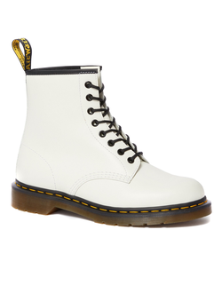 Ботинки Dr. Martens SMOOTH LEATHER LACE UP белые женские