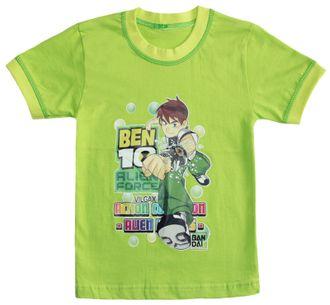 Футболка для мальчика (Артикул 2101-492) цвет зелёный