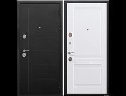 Стальная дверь 10 см ТРОЯ муар АЛЯСКА Царга