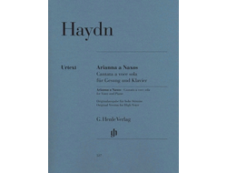 Haydn: Arianna a Naxos, Cantata a voce sola  for Voice and Piano Hob. XXVIb:2