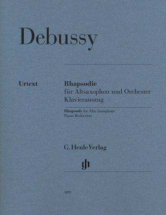 Claude Debussy Rhapsody for Alto Saxophone and Orchestra