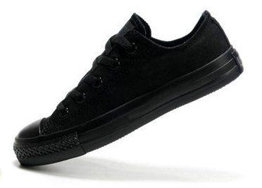 36bd0e6a4 Кеды Converse (Конверс) Chuck Taylor All Star M5039 черные монохром низкие