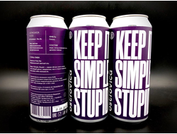 KEEP IT SIMPLE STUPID: Galaxy KISS Galaxy APA КИСС Галакси АПА 5.5% IBU 30  0,5л (180) Ostrovica в банке