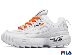 FIla Disruptor 2 OFF-WHITE Белые(36-40)
