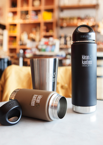 Термобутылка Klean Kanteen VACUUM INSULATED 592 мл (20oz) Albatross Gray