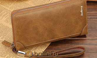 Мужской клатч Baellerry Euro Dark Brown