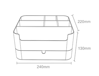 Органайзер Xiaomi Bamboo Multi-function storage box