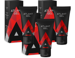 Atlant Gel intimate lubricant gel for men (3 pieces).