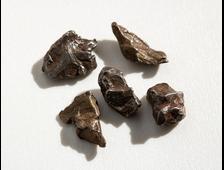 Метеориты в ассортименте, Кампо (6-9 мм, 0,3 г) №20107