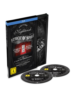 NIGHTWISH Vehicle of spirit 2-Blu-ray Digi