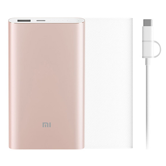 Аккумулятор Xiaomi Power Bank Pro 10000mAh Type-C Gold Kit Gold