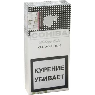 Сигариллы Cohiba White Club 10 шт