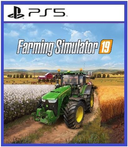 Farming Simulator 19 (цифр версия PS5 напрокат) RUS