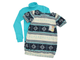 Туника и водолазка (Артикул 5100-523) цвет лазурный