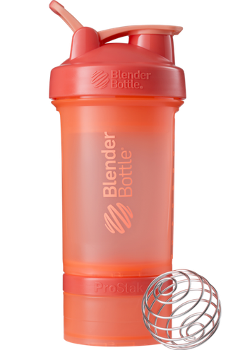 Шейкер Blender Bottle ProStack Coral  (Коралловый) 650 мл