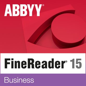 AF15-2S1W01-102 ABBYY FineReader 15 Business, Full, License, 1 лицензия