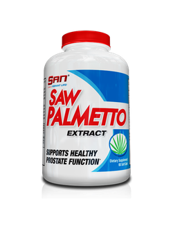 Добавка San saw palmetto extract 60 softgels cap