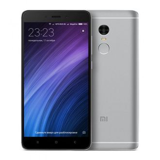 Смартфон Xiaomi Redmi Note 4 32Gb+3Gb Grey (серый)