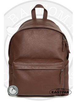 Рюкзак из кожи Eastpak Padded Pak'r Chestnut Leather