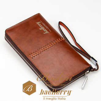 Мужской клатч Baellerry Leather Ligth Brown