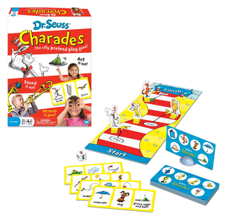 Dr Seuss Charades game