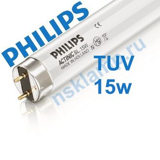 Лампа бактерицидная TUV 15W T8 G13 PHILIPS