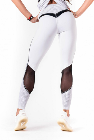 Леггинсы V-butt leggings 605 Белые