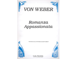 Weber:  Romanza appassionata for trombone with piano