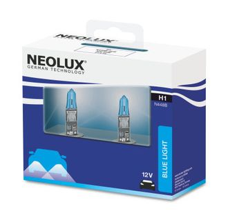 Neolux Blue Light H1 55 W 12 V P14.5s к-т