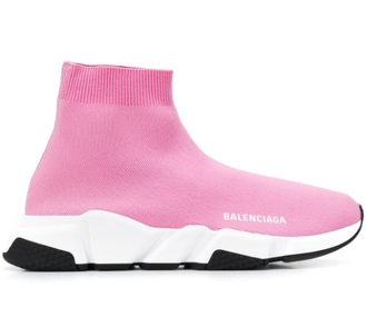 Balenciaga Speed trainer розовые