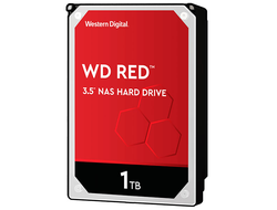 ЖЕСТКИЙ ДИСК HDD 1TB WESTERN DIGITAL RED SATA 6GB/S 5400RPM