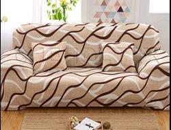 Чехлы на 3-х местные диван Принт китайского производства