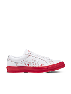 Кеды Converse X Golf Le Fleur Colorblock One Star розовые низкие