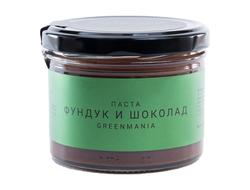 Паста Фундук и шоколад, 200г (GreenMania)