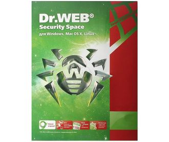 Dr.Web Security Space  на 36 мес.3 лиц., КЗ (ESD) LHW-BK-36M-3-A3