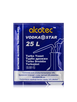 "Дрожжи «Alcotec Vodka Star"" 66гр"