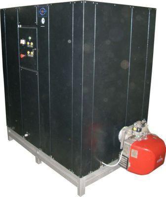 газовый парогенератор промышленный 300 кг пара