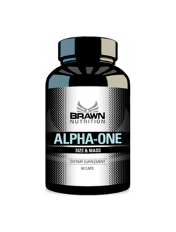 BRAWN Alpha-One (Methyl 1-AD 60 caps)