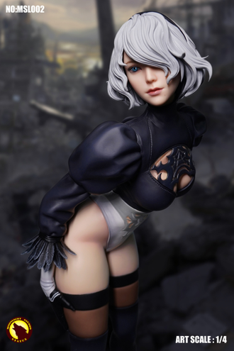АНДРОИД 2B ИЗ ИГРЫ NIER: AUTOMATA - КОЛЛЕКЦИОННАЯ статуя 1/4 scale (MLS002) - MOONLIGHT STUDIO