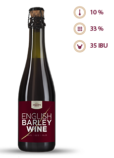 Пиво ENGLISH BARLEYWINE 10% 0,375Л