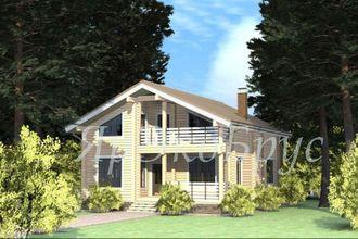 дом из бруса - проект № 15